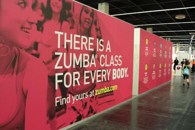Trend, wie auch in den vergangenen Jahren war Zumba, bei dem Aerobic mit lateinamerikanischen sowie internationalen Tänzen kombiniert werden.