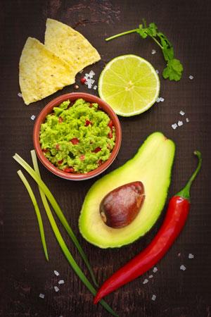 Diese Zutaten brauchst Du für eine gute Guacamole