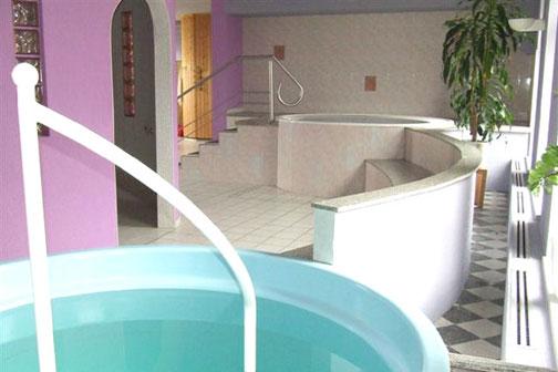 Auch der Whirlpool bietet eine Gelegenheit zum Entspannen.