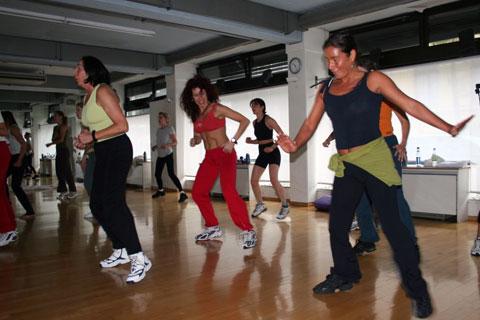 Zumba im Pilates Plus München