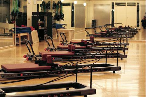 Der Reformer im Pilates Plus München